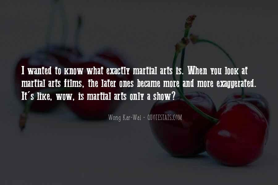 Best Wong Kar Wai Quotes #357199