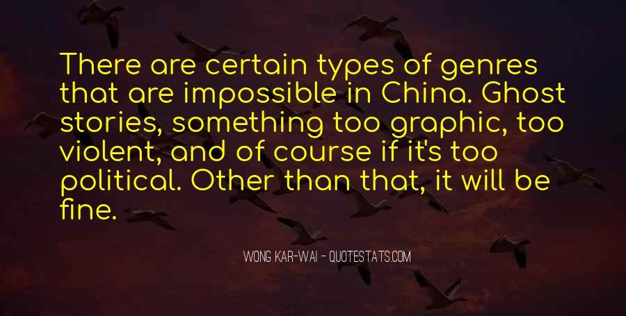Best Wong Kar Wai Quotes #434402