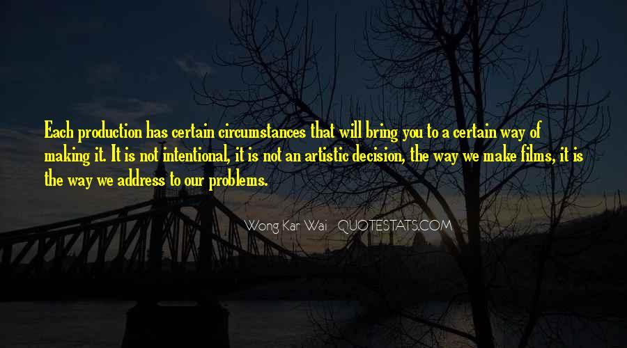 Best Wong Kar Wai Quotes #482392