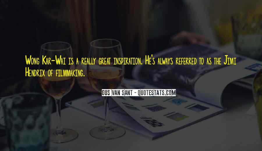 Best Wong Kar Wai Quotes #549148