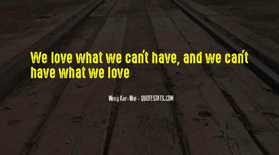 Best Wong Kar Wai Quotes #652312
