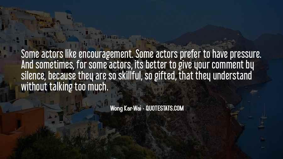 Best Wong Kar Wai Quotes #675773