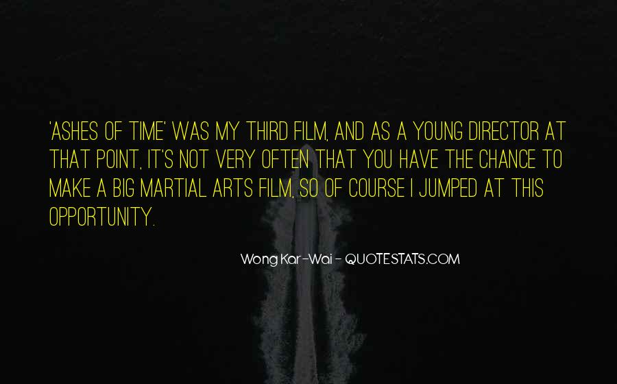 Best Wong Kar Wai Quotes #927638