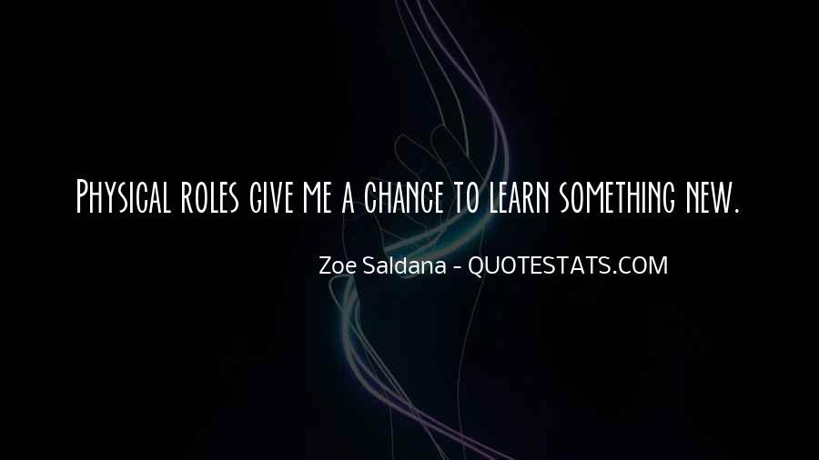 Best Zoe Saldana Quotes #184856
