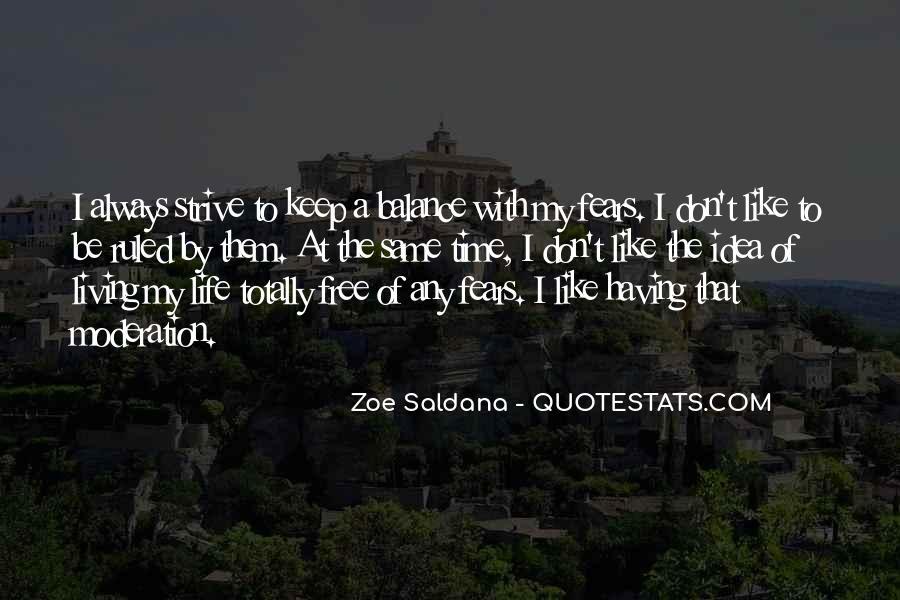 Best Zoe Saldana Quotes #222118