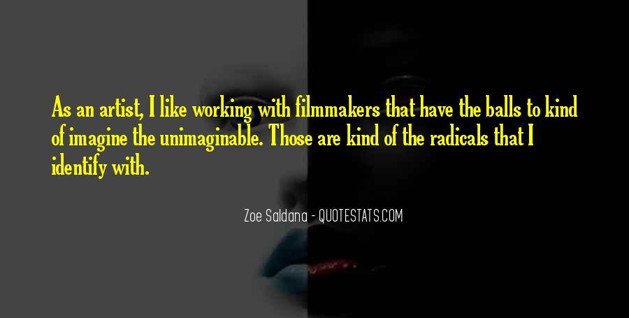 Best Zoe Saldana Quotes #316907