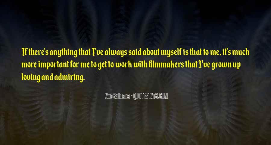 Best Zoe Saldana Quotes #379281