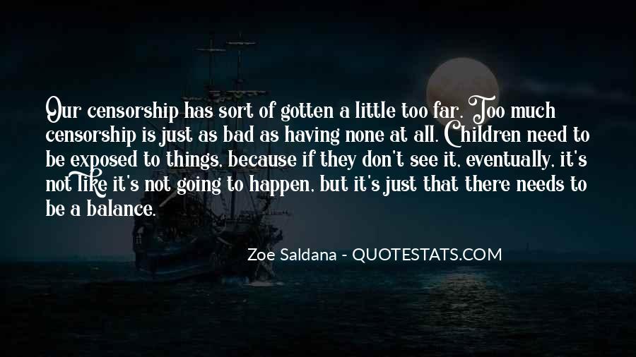Best Zoe Saldana Quotes #415836