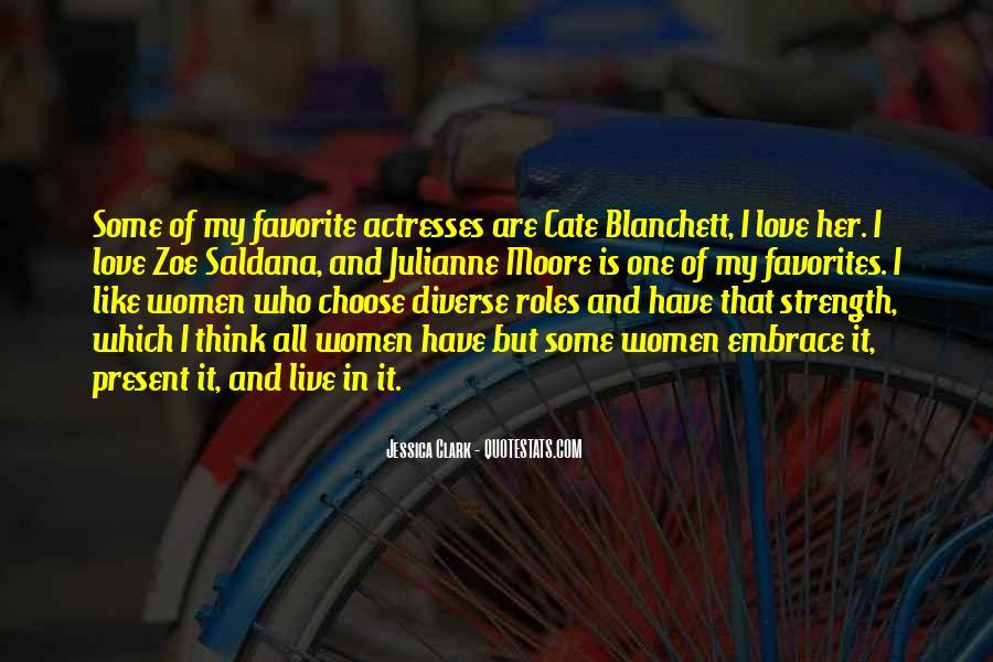 Best Zoe Saldana Quotes #422867
