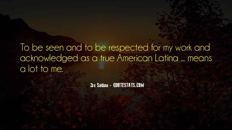 Best Zoe Saldana Quotes #438359