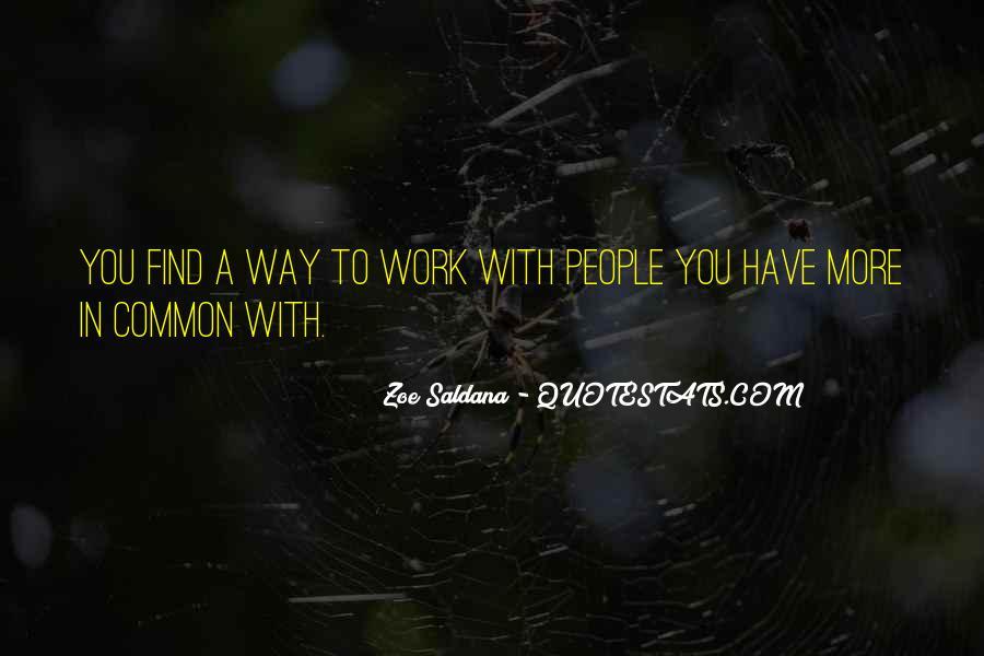 Best Zoe Saldana Quotes #539691