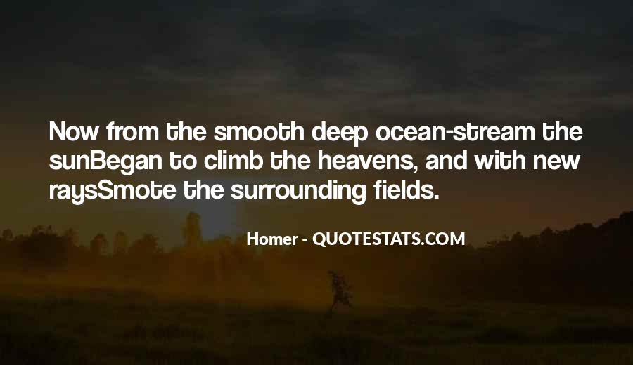 Quotes About The Sun And Ocean #1023043