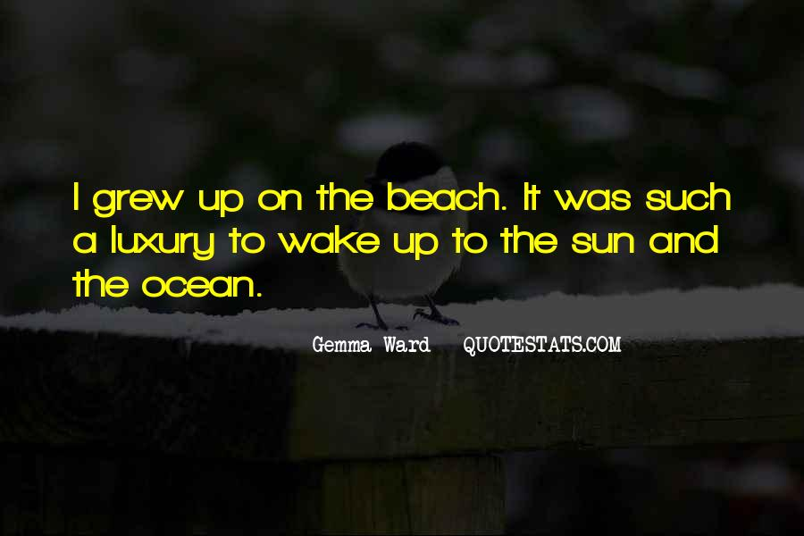 Quotes About The Sun And Ocean #1172758