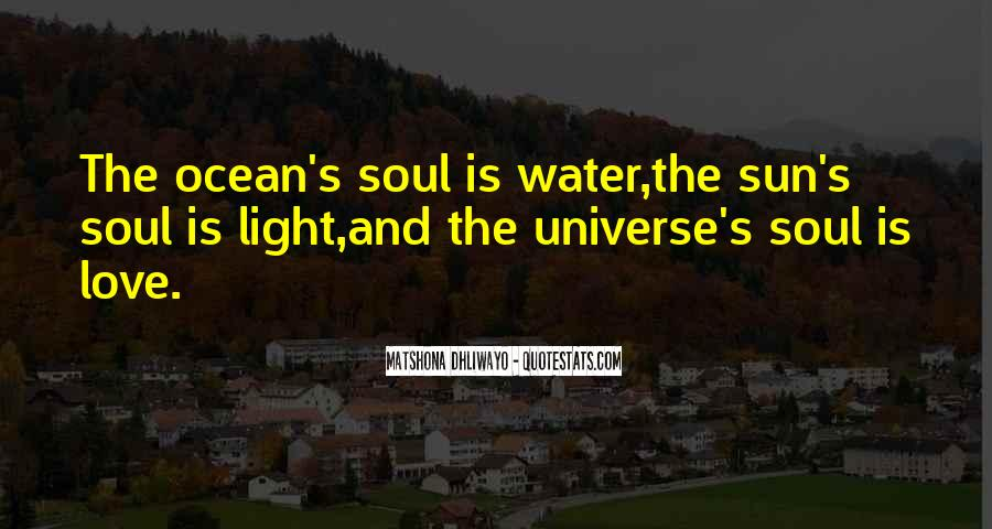 Quotes About The Sun And Ocean #1225130