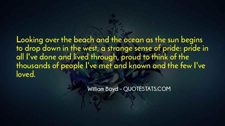 Quotes About The Sun And Ocean #1434378