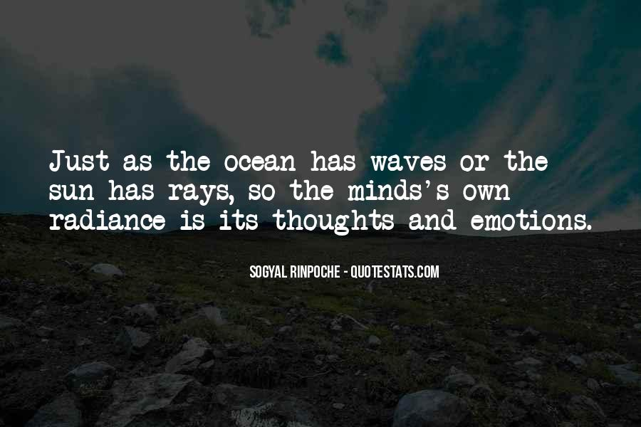 Quotes About The Sun And Ocean #1466899