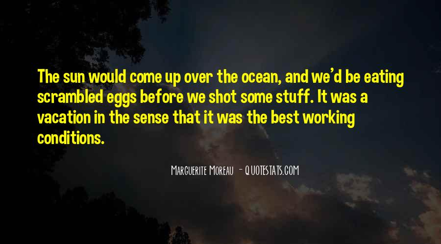 Quotes About The Sun And Ocean #331814