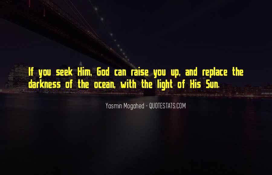 Quotes About The Sun And Ocean #795194