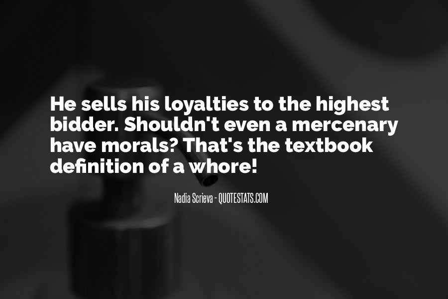 Betrayal Loyalty Quotes #228828