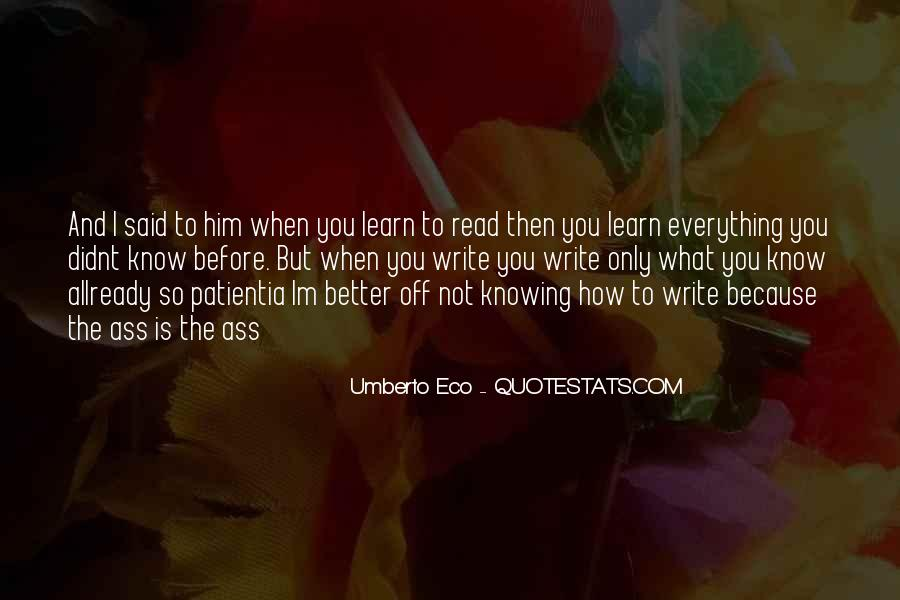Better Before Quotes #126968