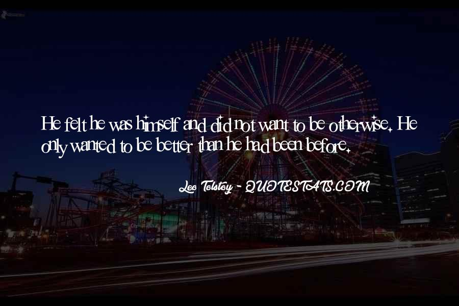 Better Before Quotes #155760
