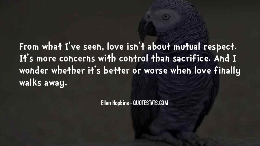 Better Or Worse Love Quotes #1337727