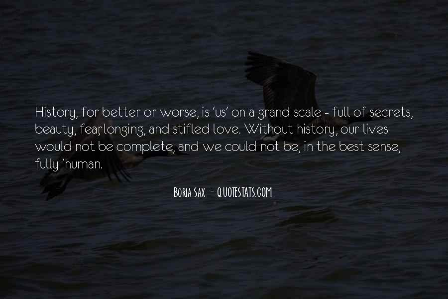 Better Or Worse Love Quotes #1404127