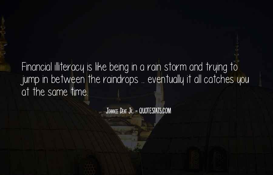 Between The Raindrops Quotes #621024