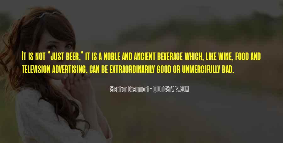 Beverage Quotes #1545931