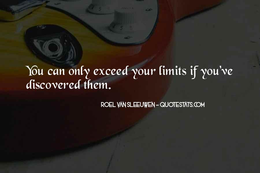 Beyond Limit Quotes #1408494
