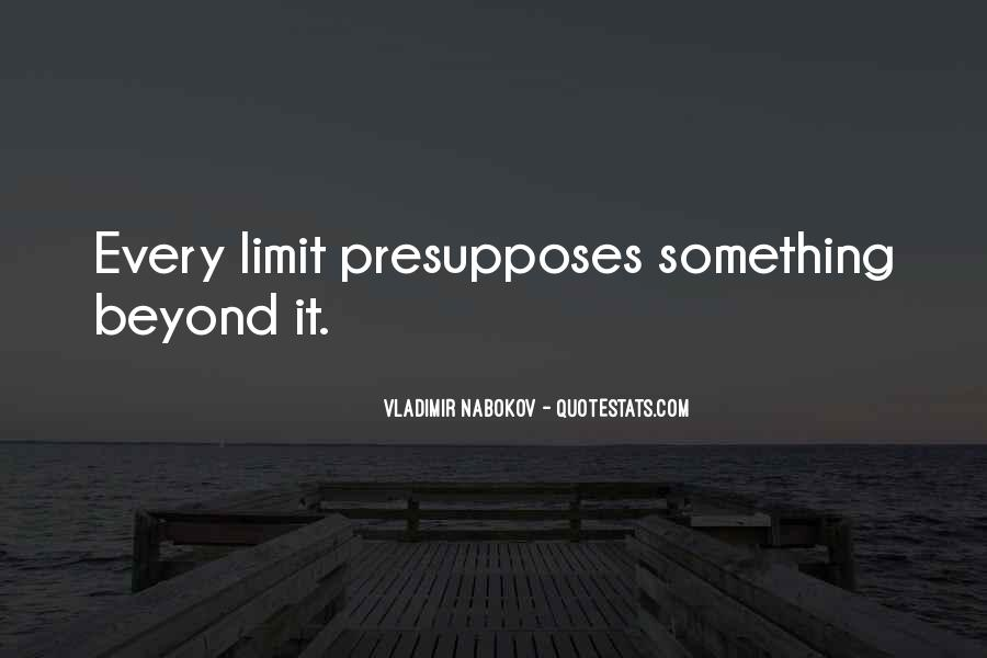 Beyond Limit Quotes #1782024