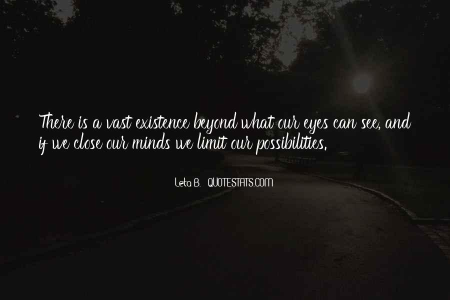 Beyond Limit Quotes #201750