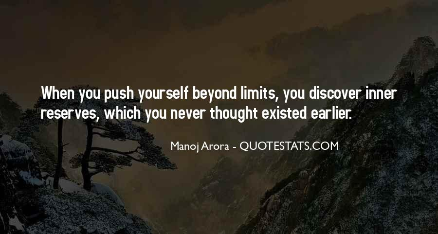 Beyond Limit Quotes #436138
