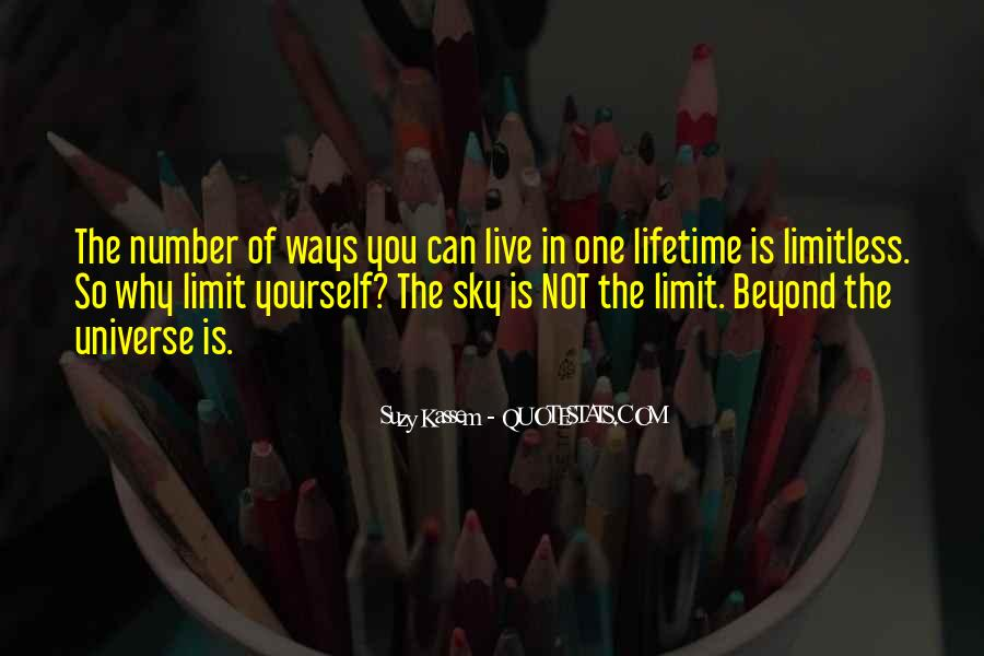 Beyond Limit Quotes #519005