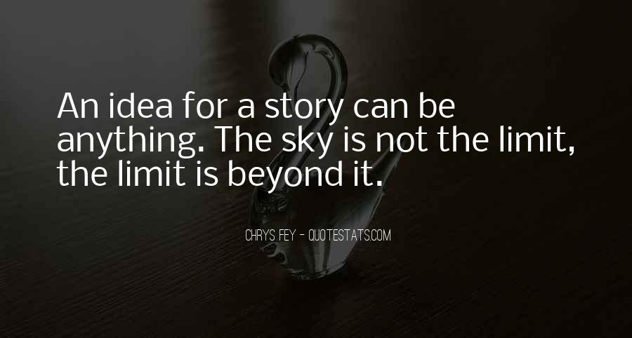Beyond Limit Quotes #553262