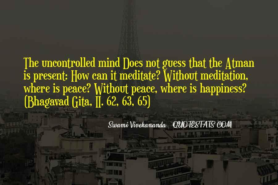 Bhagavad Gita Atman Quotes #1712349