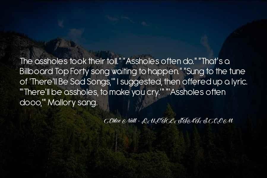 Quotes About Lyric #105471