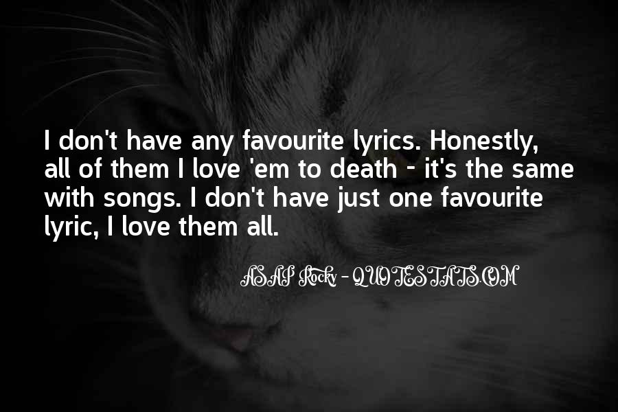 Quotes About Lyric #135539