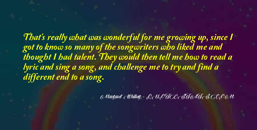 Quotes About Lyric #144048
