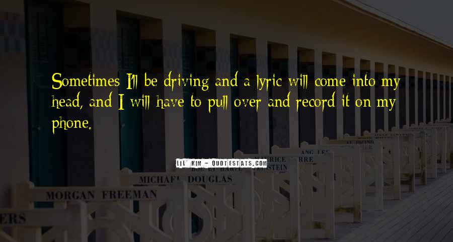 Quotes About Lyric #187088