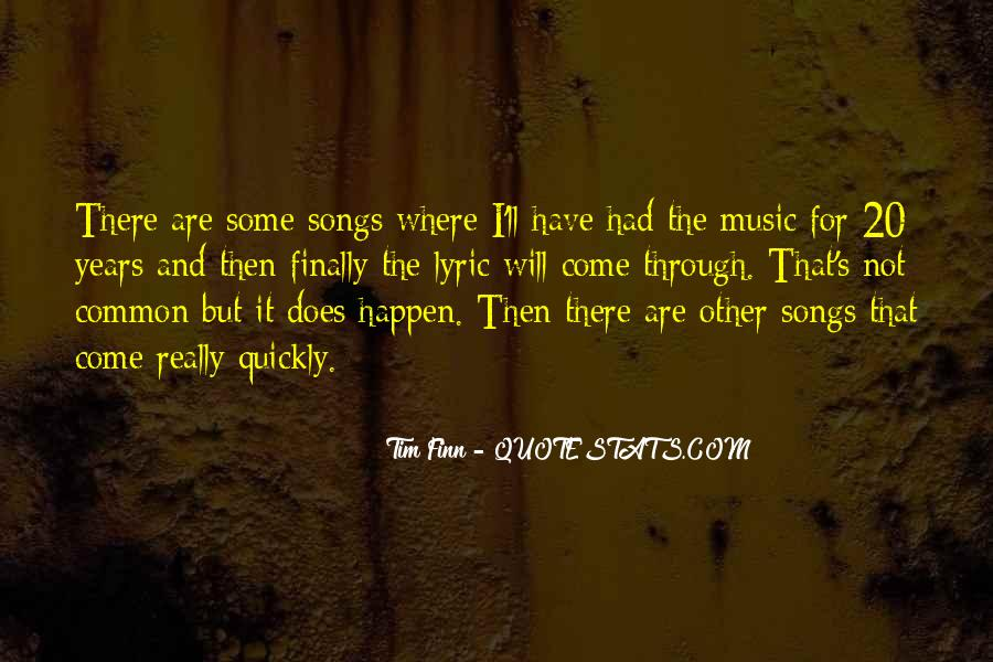 Quotes About Lyric #205322
