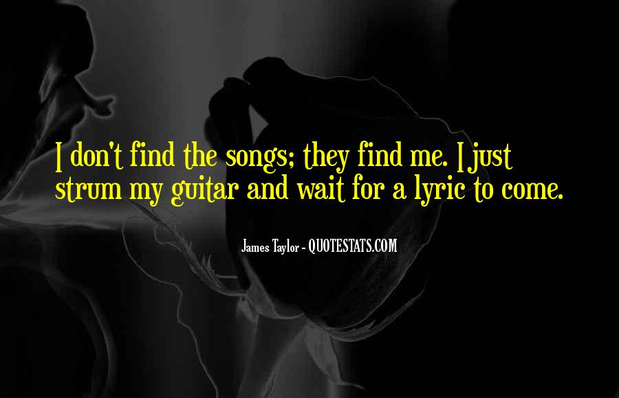 Quotes About Lyric #307860