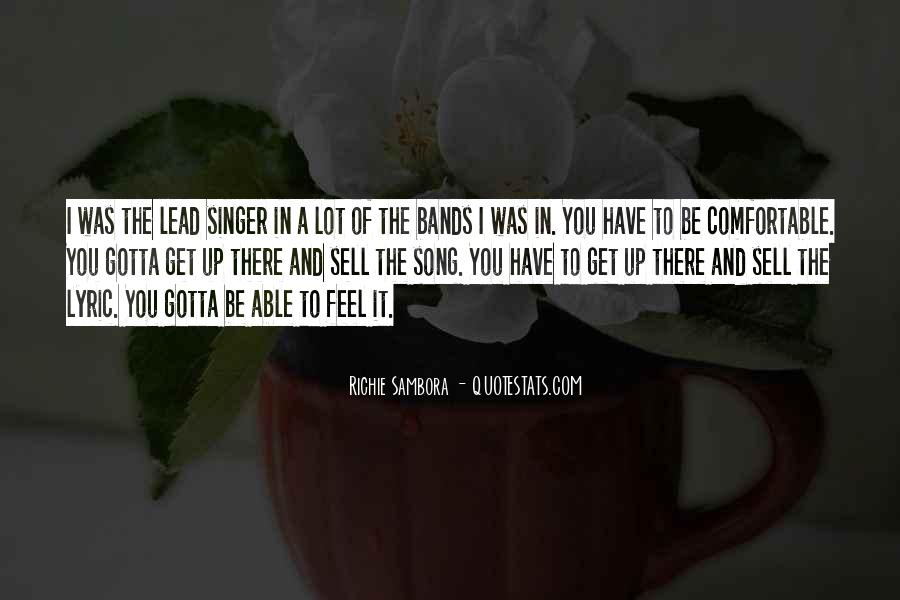 Quotes About Lyric #317133