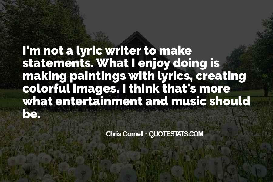 Quotes About Lyric #392141