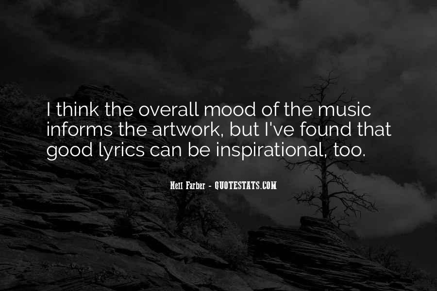 Quotes About Lyric #425091
