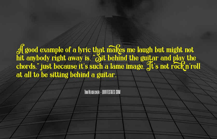 Quotes About Lyric #44080