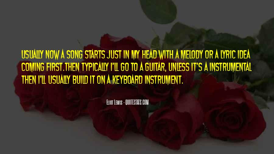 Quotes About Lyric #466858