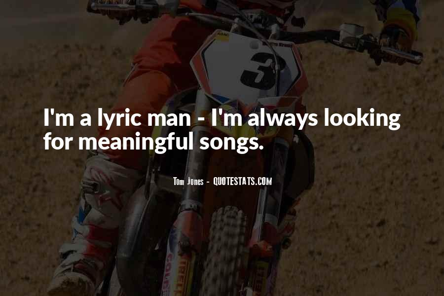 Quotes About Lyric #473011