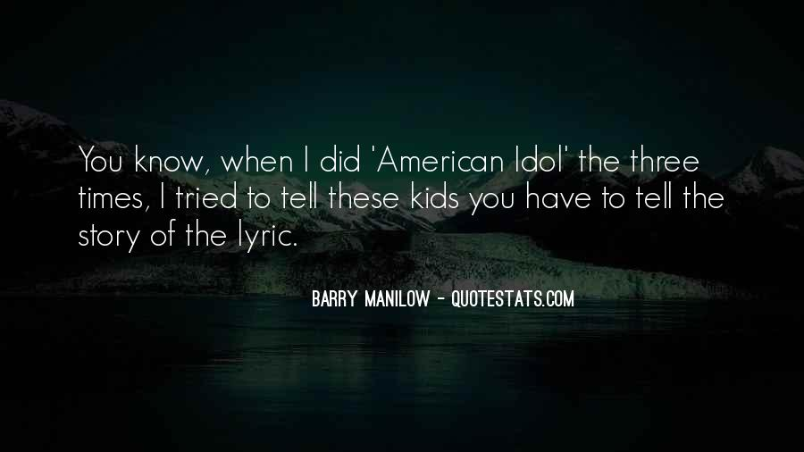 Quotes About Lyric #506513