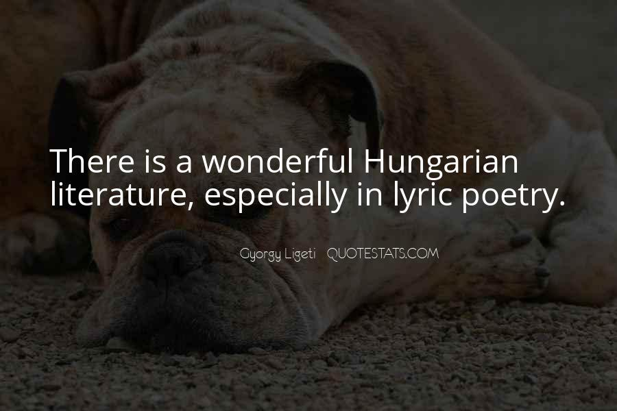 Quotes About Lyric #516063
